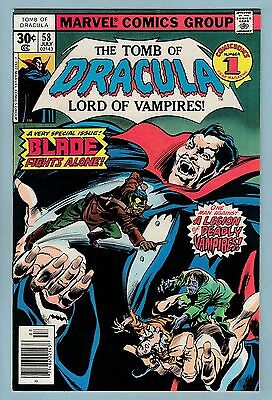 Tomb Of Dracula # 58 Nm- (9.2) All Blade Issue- Lovely High Grade- Cents_60% Off