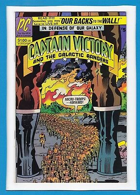 Captain Victory And The Galactic Rangers #5_July 1982_Vf Minus_Jack Kirby_Pc!
