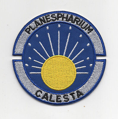 Space 1999 Calesta Uniform Jacket Patch 3 inches tall patch