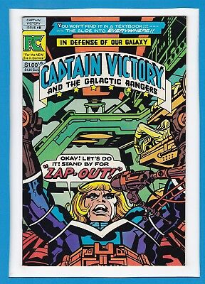Captain Victory And The Galactic Rangers #8_Dec 1982_Vf Minus_Jack Kirby_Pc!