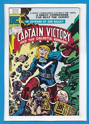Captain Victory And The Galactic Rangers #9_February 1983_Fine_Jack Kirby_Pc!