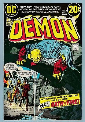 The Demon # 2 Vfnm (9.0) High Grade Cents- Kirby- 1972- White Pgs- 50% Off Guide