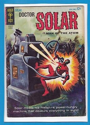 Doctor Solar, Man Of The Atom #9_Oct 1964_Very Good/fine_Silver Age Gold Key!