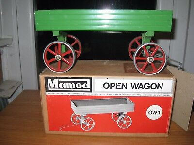 mamod OW1 open wagon trailor & original box