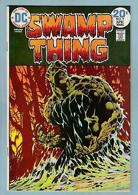 Swamp Thing # 9 Nm- (9.2) Lovely High Grade- Cents- Wrightson Art- 50% Off Guide