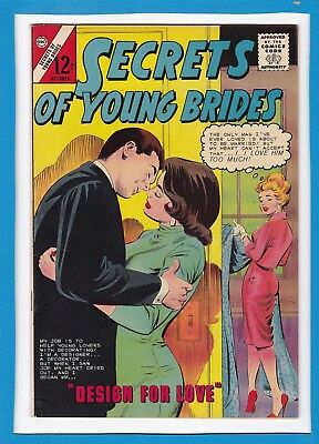 Secrets Of Young Brides #44_October 1964_Very Fine_Silver Age Charlton Comics!