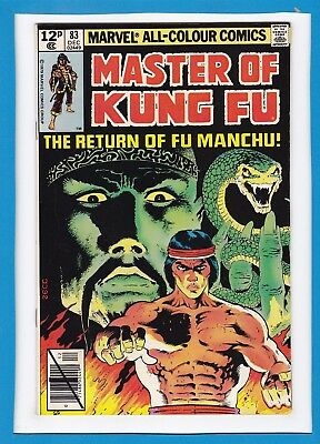 The Hands Of Shang-Chi, Master Of Kung-Fu #83_December 1979_Very Fine_Uk!