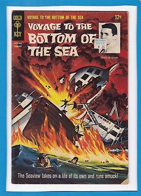 Voyage To The Bottom Of The Sea #11_February 1968_Very Good_Silver Age Gold Key!