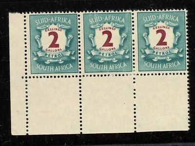 South Africa Petrol Gallons Stamps X3 Mnh.    A721
