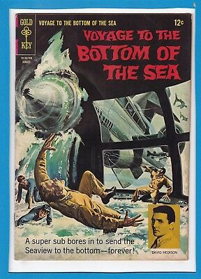 Voyage To The Bottom Of The Sea #9_August 1967_Fine_Silver Age Gold Key!