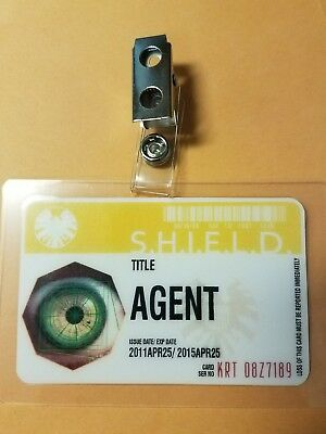 Agents Of Shield ID Badge- Agent cosplay prop costume B