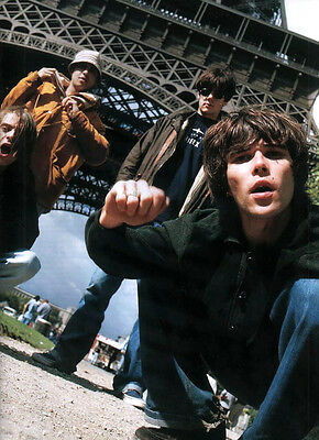 The Stone Roses - Classic Full Page Magazine Picture Photo Cutting - RARE