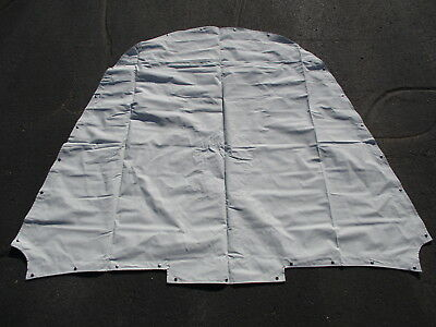 Dufort Gray Canvas Forward Front Bow Cover Alumacraft 180/190/200 Trophy Boat 05