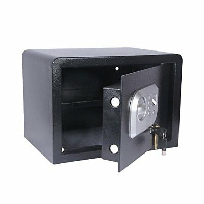 SereneLife Fingerprint Electronic Safe Box Security Box, Includes Keys