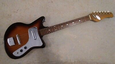 Telestar Electric Guitar Single Pickup Vintage 1960's Japan Made MIJ
