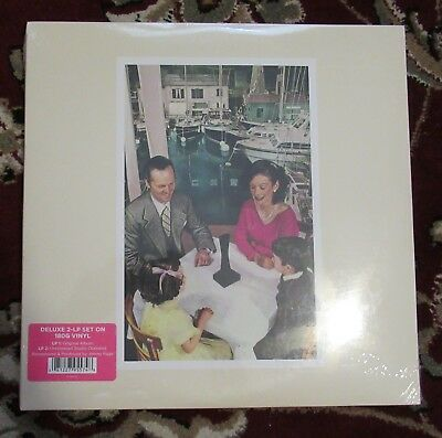 """Led Zeppelin 2015 SEALED """" PRESENCE """" 180 GRAM 3 LP SET! W OUTTAKES REMASTERED"""