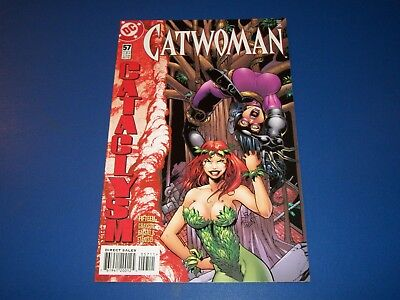 Catwoman #57 NM- Key Poison Ivy