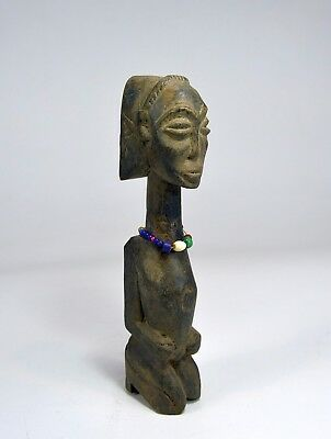 Luba Kneeling devotee sculpture, African Art
