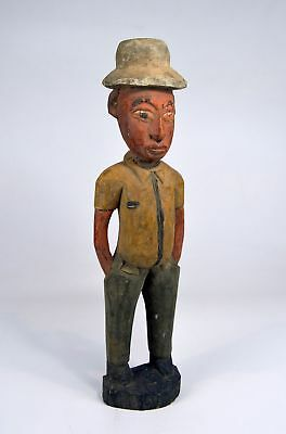 Vintage Colon figure from Ghana, Africa,, African Art