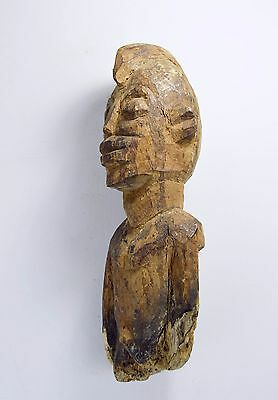Eroded Old fragment of a Lobi Bateba Shrine Figure with obvious age
