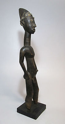 Old Anyi or Attie male sculpture from the lagoons region of West Africa