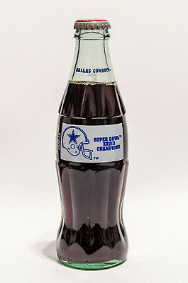 Coca-Cola Bottle - DALLAS COWBOYS - SUPER BOWL XXVIII CHAMPIONS - Coke