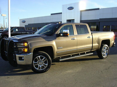 """2015 Chevrolet Silverado 2500 4WD Crew Cab 153.7"""" High Country HEATED/VENTILATED SEATS+POWER PEDALS+PARK ASSIST+MORE!"""