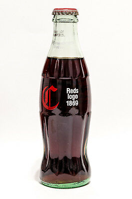 Coca-Cola Bottle - CINCINNATI REDS 1869 LOGO - Coke