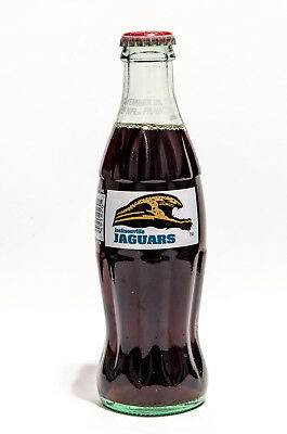 Coca-Cola Bottle - 1993 JACKSONVILLE JAGUARS - Coke