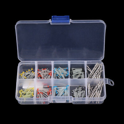 160 Pcs Single Glass Fiber Dental Post Refilled Package & 32 Pcs Drills