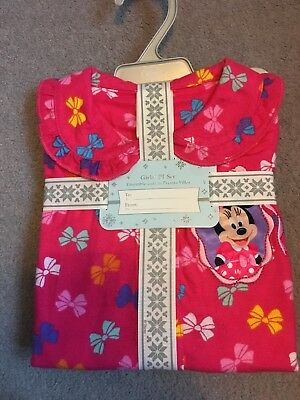 Girls Disney Store Pjs Minnie Mouse Age 3