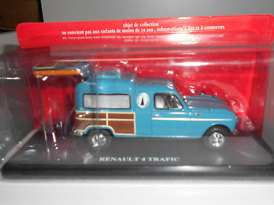 Renault 4 Trafic Camping Car Passion 4L Hachette 1:43