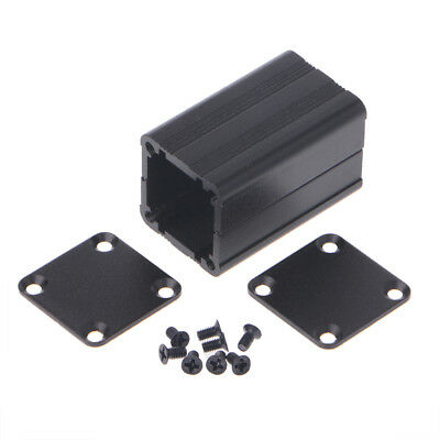 Extruded Electronic DIY Project Aluminum Enclosure Case Black 40x25x25mm