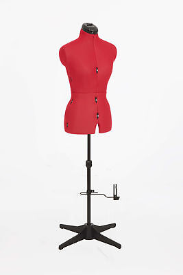 Adjustoform 023816/Red Sew Simple 8-Part Adjustable Dressmaker's Dummy UK10-16