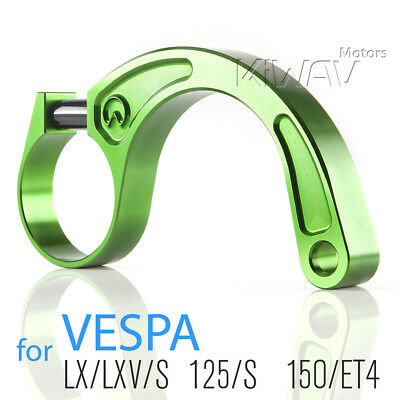CNC aluminum alloy 6061 stabilizer bar fix lean bracket green for Vespa ET4