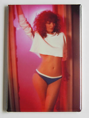 Kelly LeBrock FRIDGE MAGNET (2 x 3 inches) weird science movie poster