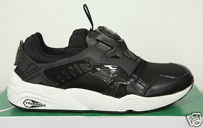 NUOVO Puma Trinomic Disc Blaze Core Black Sneaker 3595 139 TG 40 UK 65
