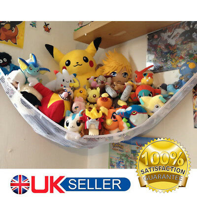 Large Toy Soft Hammock Mesh Baby Childs Kids Teddy Bear Storage Tidy Nursery Net