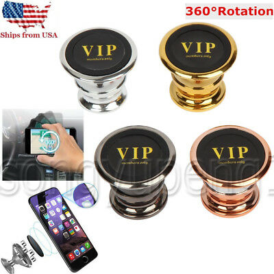 360 Degree Magnetic Car Dash Mount Ball Dock Holder For Phone Tablet Universal
