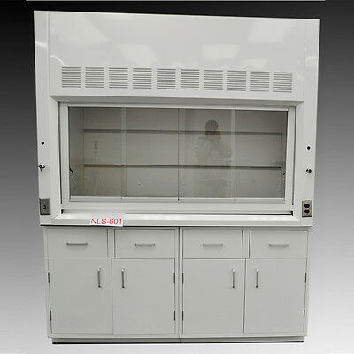 NEW Chemical 6' Fume Hood with Epoxy Top & Cabinets NEW