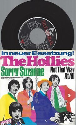 """7""""   The Hollies – Sorry Suzanne"""