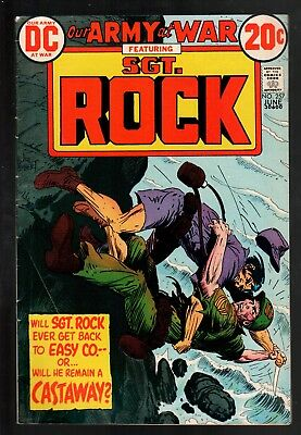 Our Army at War #257 VG+ 4.5 DC Bronze Age War 1973 Sgt. Rock!!!