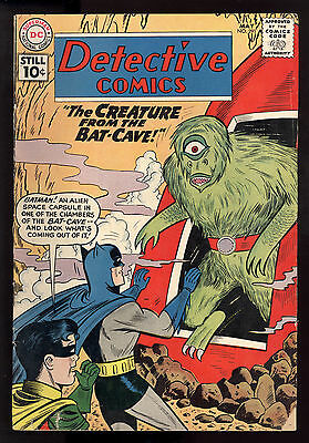 Detective Comics (1937) #291 1st Print Monster Martian Manhunter Roy Raymond VG
