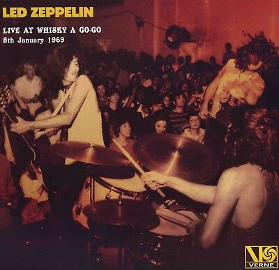 LED ZEPPELIN Live At Whisky A Go Go January 1969 NOT red plum Atlantic TOP SOUND