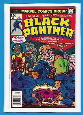Black Panther #1_January 1977_Fine+_Classic Bronze Age All-New Jack Kirby!