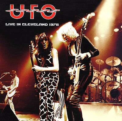 UFO Live In Cleveland 1978 LP OBSESSION TOUR perfect sound MSG Scorpions VINYL
