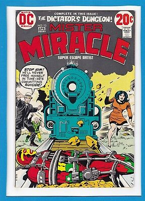 Mister Miracle #13_April 1973_Very Fine_Jack Kirby_Bronze Age Dc!