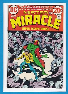 Mister Miracle #15_September 1973_Very Fine_Bronze Age Dc_Jack Kirby!