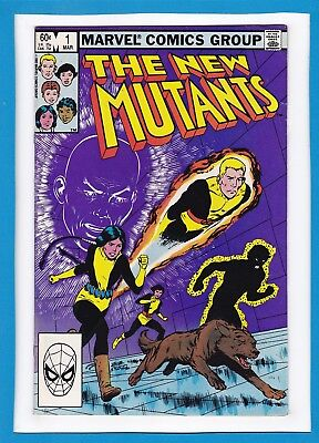 New Mutants #1_March 1983_Fine/very Fine_Professor X_Fantastic First Issue!