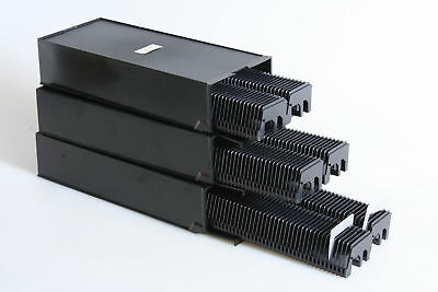 Slide Projector Cassette Trays, 50 Per Tray, 100 Per Box, Set Of 3, 300 Total